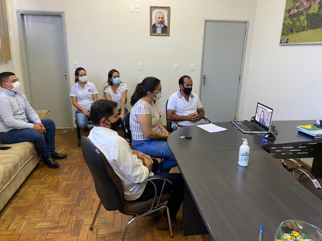 Reunião de ações em enfrentamento ao COVID-19